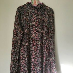 Xhilaration floral DRESS in brown, pink. Misses XS